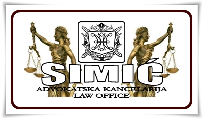 Advokatska kancelarija SIMIC Zeljko Beograd Srbija Law Office Belgrade Serbia SIMIC Law Firm Serbia Belgrade Full service Law office General practice Law firm Serbia Beograde Criminal Defense Lawyer Attorney Belgrade Law office Nova advokatska tarifa u Srbiji Novi raspored sudova u Beogradu Nove sudske takse u Srbiji Lawyer Costs Serbia Belgrade Attorney Costs and Fees in Serbia Belgrade Lawyer Prices Serbia Belgrade Attorney Prices Serbia Court Fees in Republic of Serbia Court Costs in Republic of Serbia